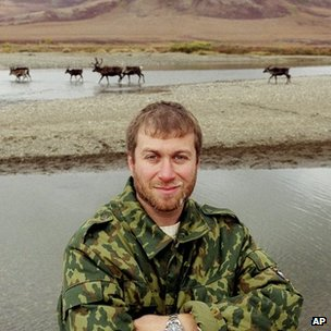 Roman Abramovich in Russia