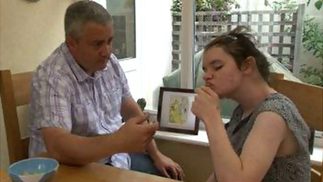 Guernsey father caring for his daughter