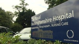The Royal Buckinghamshire Hospital