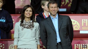 Abramovich with Daria Zhukova