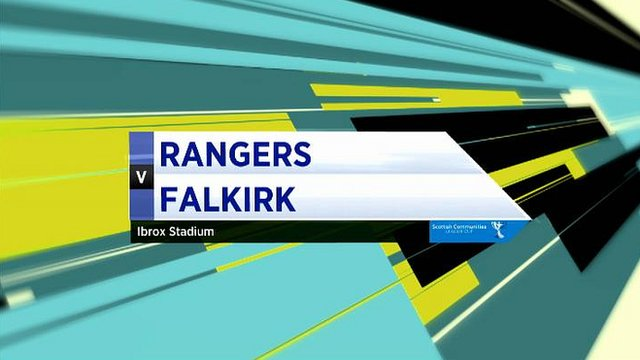 Rangers v Falkirk