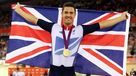 Mark Colbourne has won a gold and silver medal in the velodrome