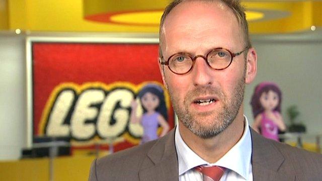 Lego's CEO Jørgen Vig Knudstorp