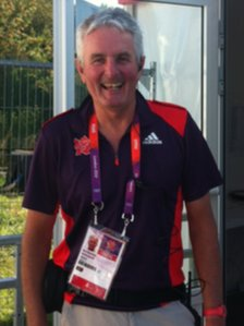 Neil Rushton was also part of the medical team at the London Olympic Games