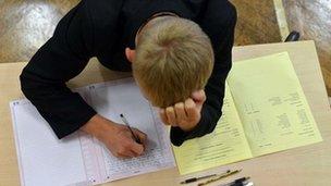 GCSE candidate