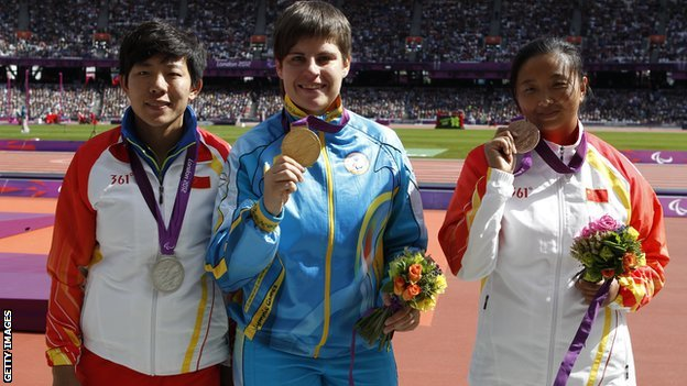 Paralympic organisers will hold another medal ceremony for the women's F35/36 discus due to a scoring error