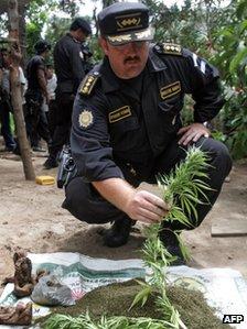 Guatemala's former police chief Erwin Sperisen in 2007