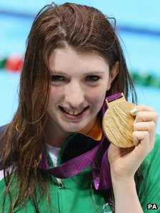 Bethany Firth with medal