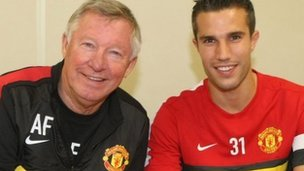 Sir Alex Ferguson, Robin van Persie