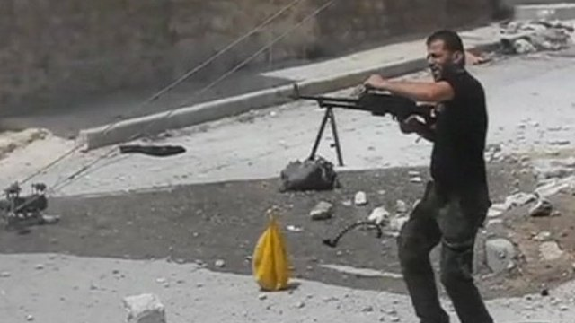 Gunman in Syria