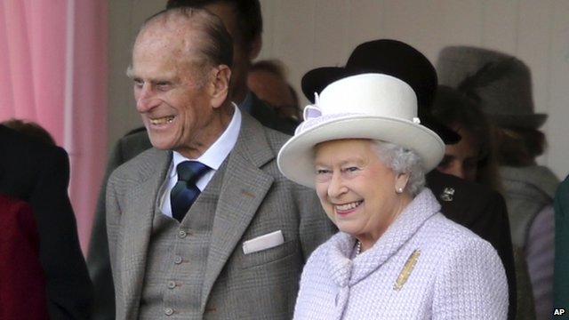 Queen and Duke of Edinburgh
