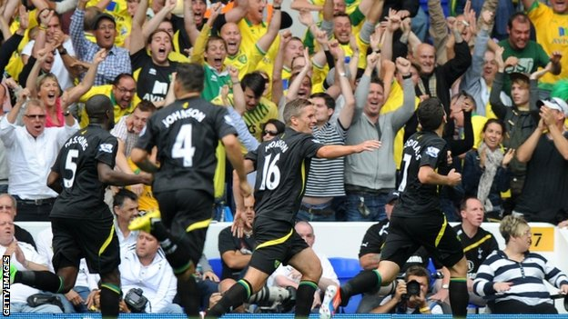 Norwich equalise