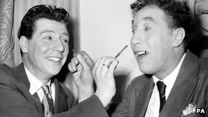 Max Bygraves and Frankie Howerd in 1950