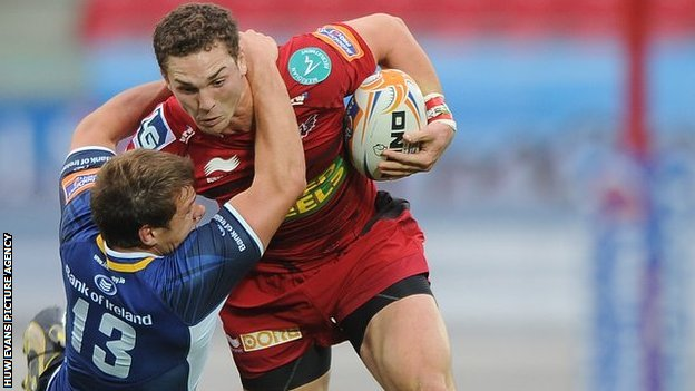 George North goes over twice