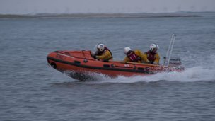 Wells inshore lifeboat, Norfolk