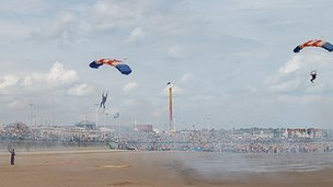 Sunderland Air Show at Seaburn beach