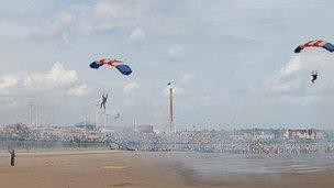 Sunderland Air Show at Seaburn beach