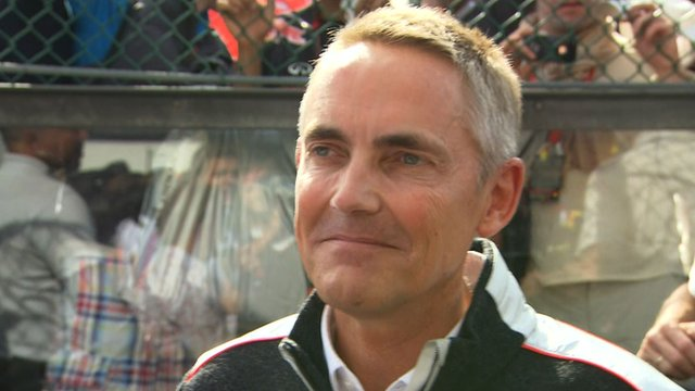 McLaren team boss Martin Whitmarsh
