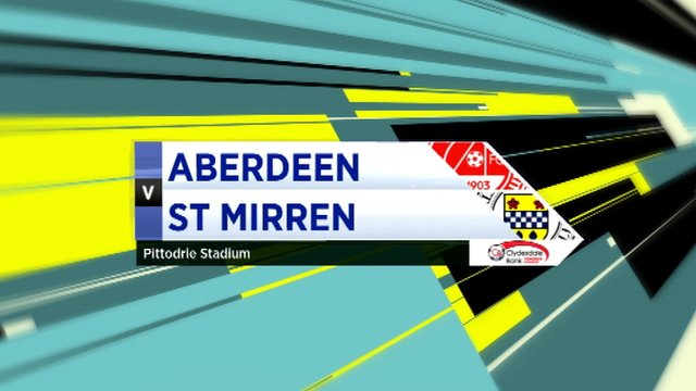 Highlights - Aberdeen 0-0 St Mirren