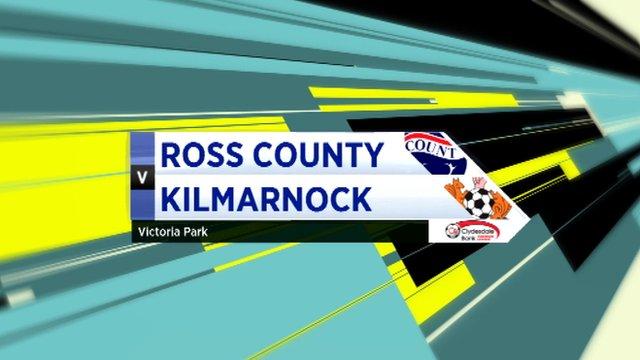 Highlights Ross County 0-0 Kilmarnock