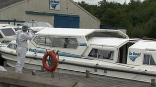 Le Boat boatyard, Horning