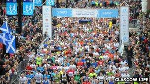 The 2012 Great Scottish Run