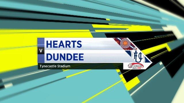 Highlights - Hearts 0-1 Dundee