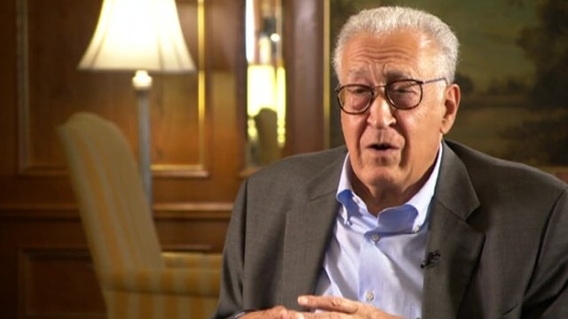 UN envoy Brahimi says Syria mission nearly impossible