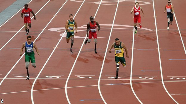 Alan Fonteles Cardoso Oliveira wins gold ahead of Oscar Pistorius 