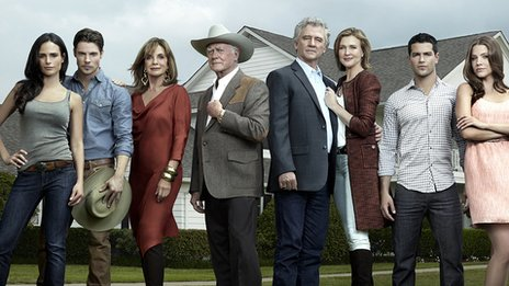 Dallas cast shot