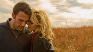 Ben Affleck and Rachel McAdams in To The Wonder