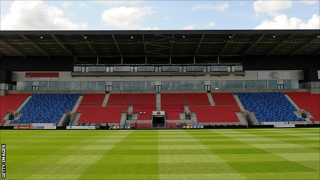 Salford City Stadium, home of Salford City Reds and Sale Sharks