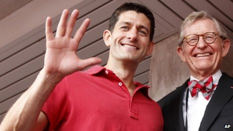 Paul Ryan (left)