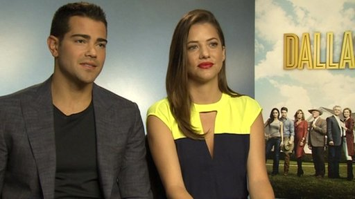 Jesse Metcalfe and Julie Gonzalo