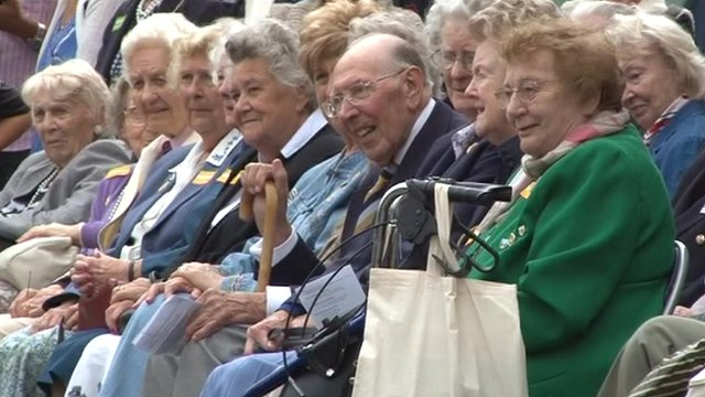 Bletchley Park code-breakers' reunion