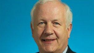 Policing Board Chairman Brian Rea
