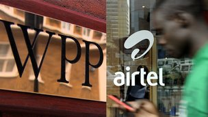 WPP and Airtel signs