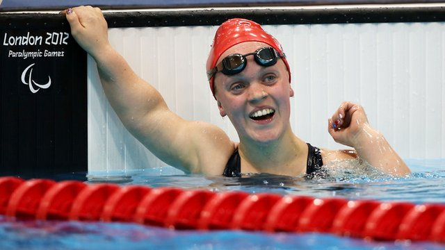 Great Britain's Ellie Simmonds