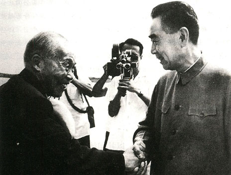 Zhou Enlai and Li Tsung Ren
