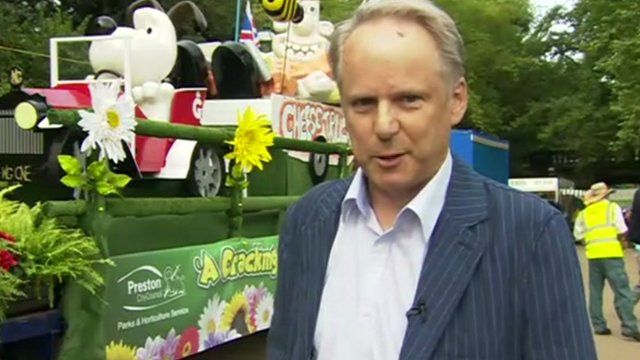 Nick Park watched his early films of the 1972 procession with his mother