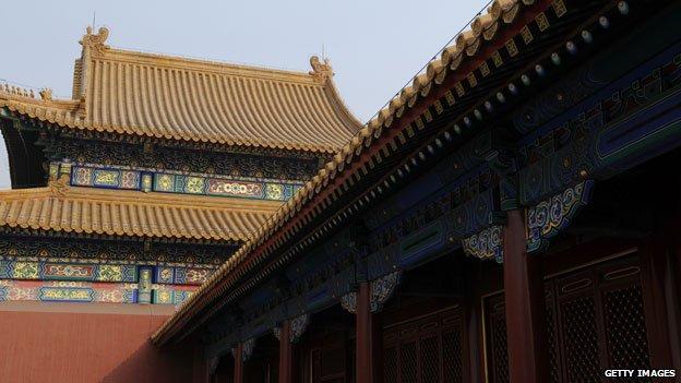 Restored imperial halls