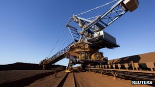 Fortescue mine in Australia