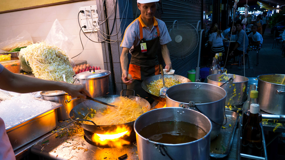 Bbc news the best of bangkok s street food