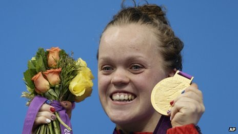 Ellie Simmonds won her second gold in the SM6 200m medley