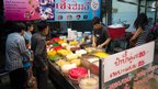 Nam kaeng sai stall 