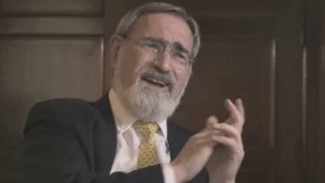 The Chief Rabbi, Lord Sacks