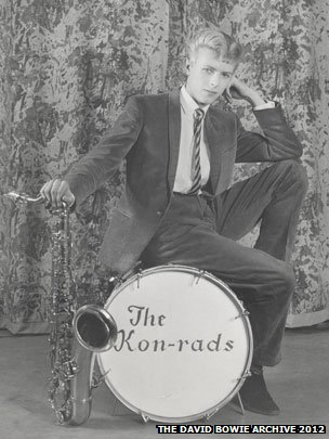 David Bowie in The Kon-rads