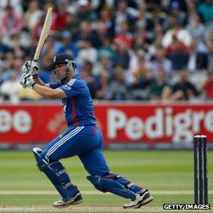 Jonathan Trott - England batsman