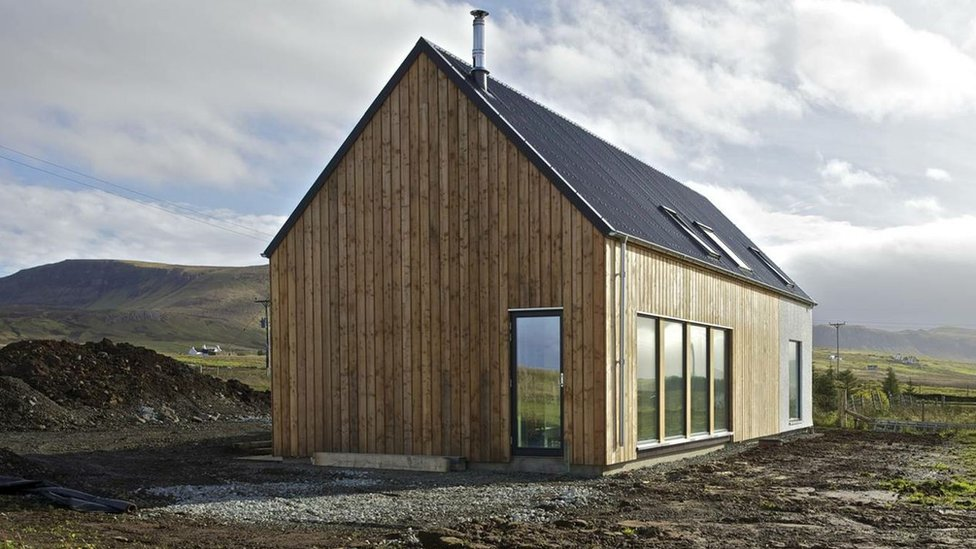 Bbc news in pictures scottish housing design winners for Rural home plans