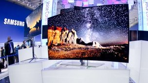 Samsung's OLED TV at IFA